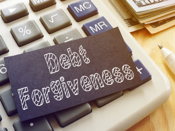Learn what is debt forgiveness and programs available including income tax implications.