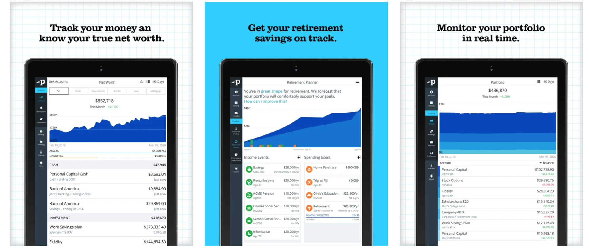 Personal capital personal finance app